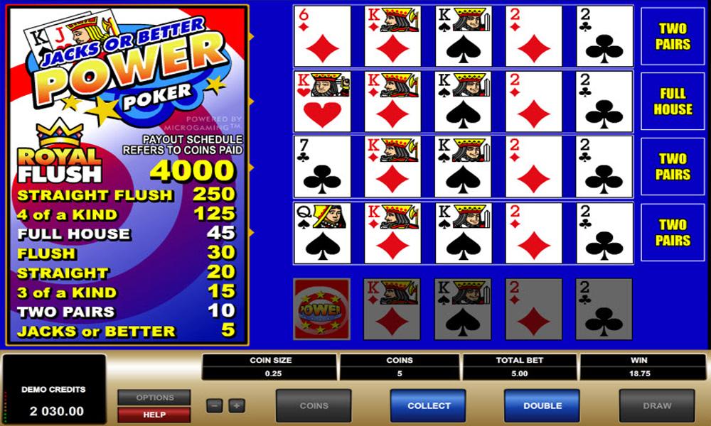 Spela video poker online på svenska casinosidor